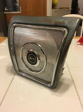 1962 1963 1964 CHEVY IMPALA REAR SEAT SPEAKER COVER ASSEMBLY, GRILL Convertible