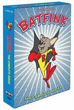 BATFINK : THE COMPLETE ANIMATED SERIES  - DVD - UK Compatible - sealed