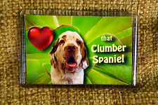 Clumber Spaniel Gift Dog Fridge Magnet 77x51mm Free UK Post Birthday Gift