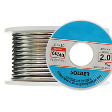 100g 2mm 60/40 Tin/Lead Rosin Core Solder Wire Cable Reel Welding Iron Tool
