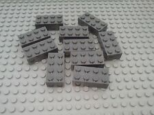 NEW LEGO BRICKS - 10 x 2x4pin DkStone DARK GREY BRICKS 3001 - STAR WARS CITY