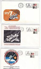 """STS-7 Challenger 20 Covers June 1983 Space Shuttle """"Sally Ride"""" + Canada !!"""