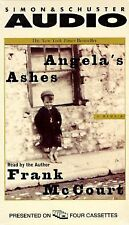 ANGELA'S ASHES BY FRAN MCCOURT AUDIO BOOK ON 4 CASSETTES NON FICTION ABRIDGED GC