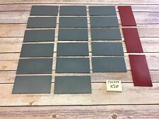LEGO Lot Of 20 Smooth Top 16x8 Roof Panels Grey Red
