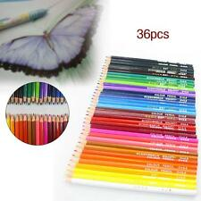 36 pcs Metallic Non-toxic Colored Drawing Pencils 36 Colors Drawing Sketching MT