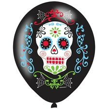 HALLOWEEN MEXICAN DAY OF THE DEAD PARTY FESTIVAL HELIUM LATX BALLOONS DECORATION