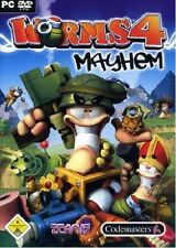 WORMS 4: MAYHEM (PC DVD-ROM) - NEU & SOFORT