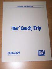 DER COUCH TRIP - Presseheft ´88 - WALTER MATTHAU Dan Aykroyd