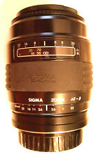 Sigma 60-200mm F/4-5.6 Zoom Lens for Minolta Maxxum Dynax  Alpha SLR Film Camera