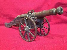 LARGE Vintage Model Spanish Artillery Heavy Cast Bronze Cannon 1/2 Bore 1651