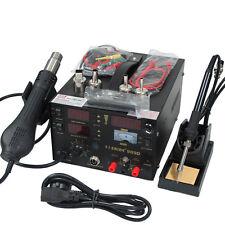 110V / 220V Hot Air Gun Power supply 3IN1 soldering Rework Station Saike 909D