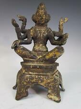 *RARE* ANTIQUE CHINESE TIBETAN KWAN-YIN STATUE , 6 ARMS