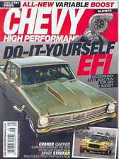 6 Chevy High Performance Mags: 6 issues From 2013 - July to December 2013 (New)