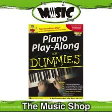 New Piano Play-Along for Dummies Music Tuition Book with 2x CDs
