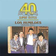 NEW 40 Artistas Y Sus Super Exitos, Humildes Hermanos Ayala (CD  2003) FREE SHIP