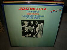 VARIOUS best of bob thiele's classic jam sessions 1950's ( jazz ) - 2lp - uk -