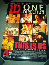 ONE DIRECTION Original Australian CINEMA MOVIE POSTER This Is Us