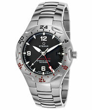 NIB Eterna Monterey GMT on Bracelet, Swiss Made, AD, MSRP:$4495, Eta-2893,10 Pic