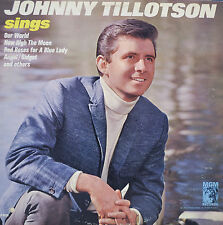 """JOHNNY TILLOTSON SINGS OUR WORLD - LP 12"""" (S75)"""