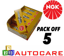 NGK Replacement Spark Plug set - 5 Pack - Part Number: BKUR5ET No. 2789 5pk