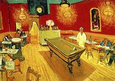 Nachtcafe Place Lamartine Arles Bar Billard Bütten Vincent van Gogh A3 043