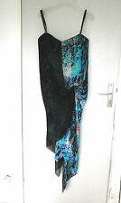 Robe en soie BCBG Max Azria Runaway  t 38 fr silk dress 6 US