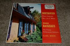Beethoven Piano Concerto No. 3~Wilhelm Backhaus~Karl Bohm~London B 19063