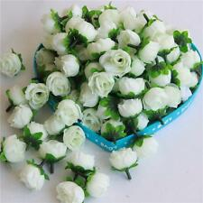 Roses Heads Artificial Silk Flowers Heads Party Wedding Decor 100pcs