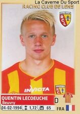 133 QUENTIN LECOEUCHE FRANCE RC.LENS STICKER FOOTBALL 2015 PANINI ~