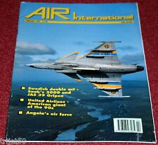 Air International 1993 February Saab 2000,Gripen,United Airlines,B25 Mitchell