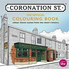 Coronation Street Adult Colouring Book Rovers Return Soap TV Show Christmas Gift