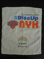 NEW YORK KNICKS 2012 PLAYOFFS TOWEL * #RISEUP * NYK * MIAMI HEAT
