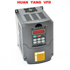 220V VARIABLE FREQUENCY DRIVE INVERTER VFD 2.2KW 3HP 10A CE CERTIFICATED FOR CNC