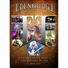Edenbridge A Decade And A Half. The History So Far 6 dvd set  nightwish in stock