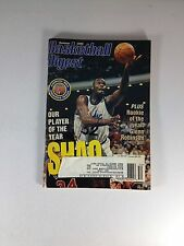"Basketball Digest Magazine, 1995, Shaquille O'neal, ""One Owner"" Of Magazine"