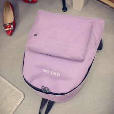 Womens Girls Canvas Shoulder Bags Backpack Rucksack Handbag Small School Satchel