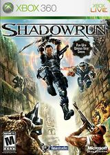 XBOX 360 Shadowrun Video Game Outwit to Outlast Full 1080p HD Online Multiplayer