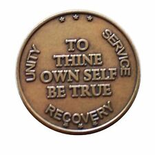 "Bronze ""To Thine Own Self Be True"" AA Medallion by BSP"