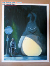 Ruel Pascual Deadline Print Crazy 4 Cult NYC Gallery 1988 Donnie Darko totoro