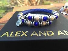 ALEX and ANI VINTAGE 66 Uncharted Voyage ULTRAMARINE ADVENTURESS Leather WRAP