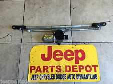 2007-2010  JEEP WRANGLER  Windshield Wiper Transmission with Front Motor & arms
