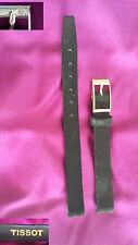 Cinturino TISSOT donna 9mm pelle originale anni 1960  vintage Leather band watch