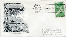 First day cover, 952, Everglades, Planty 952-22, Artmaster cachet, 1947
