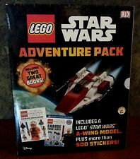 Lego Star Wars Adventure Book Pack - Character Encyclopedia, stickers. New