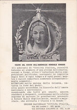 * CIVILTA' ITALICA - Unione Nazionale - Ordine del Giorno dell'Assemblea Romana