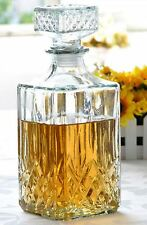 Whisky Glass Decanter 900ml Sherry Wine Juice Decanter
