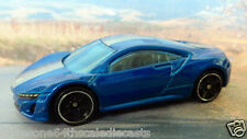 ACURA NSX CONCEPT 2012 1:64 (Blue) Hot Wheels MIP Diecast Passenger Sports Car