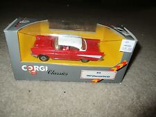 Corgi Classics 1957 Chevrolet Bel Air 1:43 Scale 1985 Nice With Box See My Store