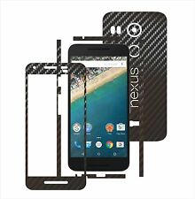 3D Carbon Skin,Full Body Protector for Case,Vinyl Wrap For LG Google Nexus 5X