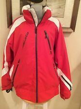 New Mens Decathlon Creation Wed'ze Ski Jacket RED/BLSCK/WHITE Sz M